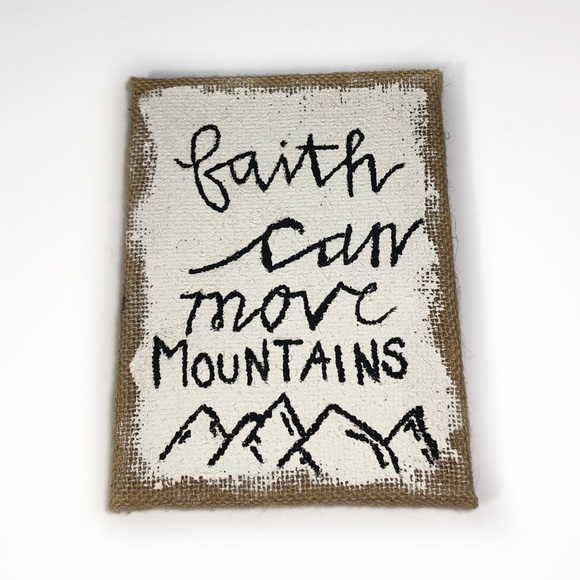 🔥3 for $25🔥 Faith Can Move Mountains Wall …